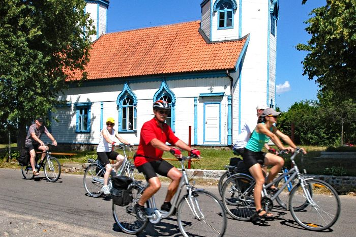 Radler in den Masuren