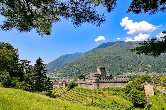 Castle Montebello in Bellinzona