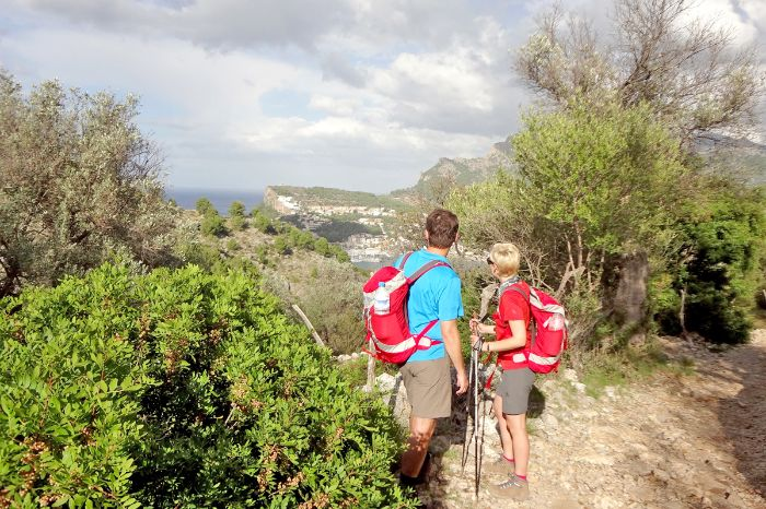 Einsame Wanderwege in Port Soller