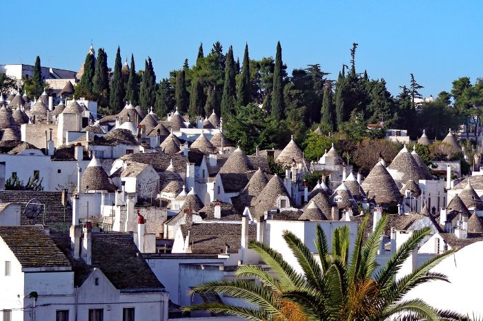 Dächer in Trulli