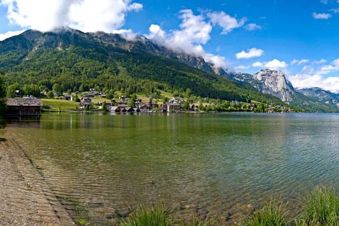 Wanderpanorama am Grundlsee