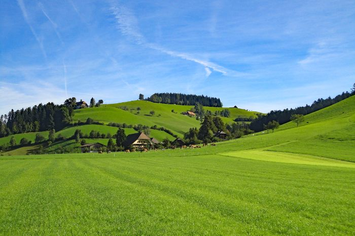 Enchanting Emmental countryside